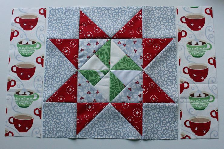 pinwheel placemats sides