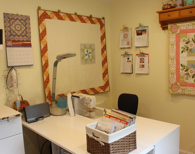Sewing Space @ The Crafty Quilter
