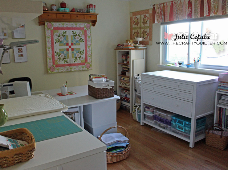 Sewing Room Tour @ The Crafty Quilter Part 62