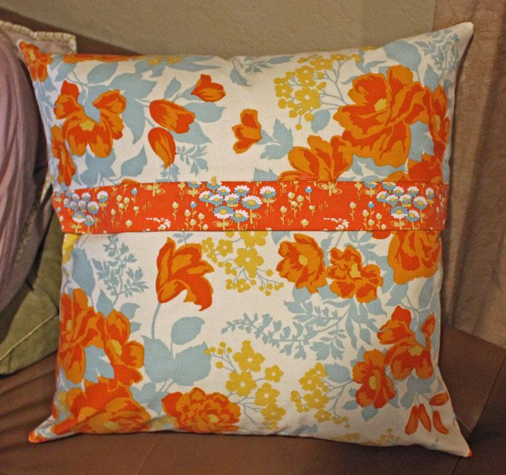 Sara's Pillow back