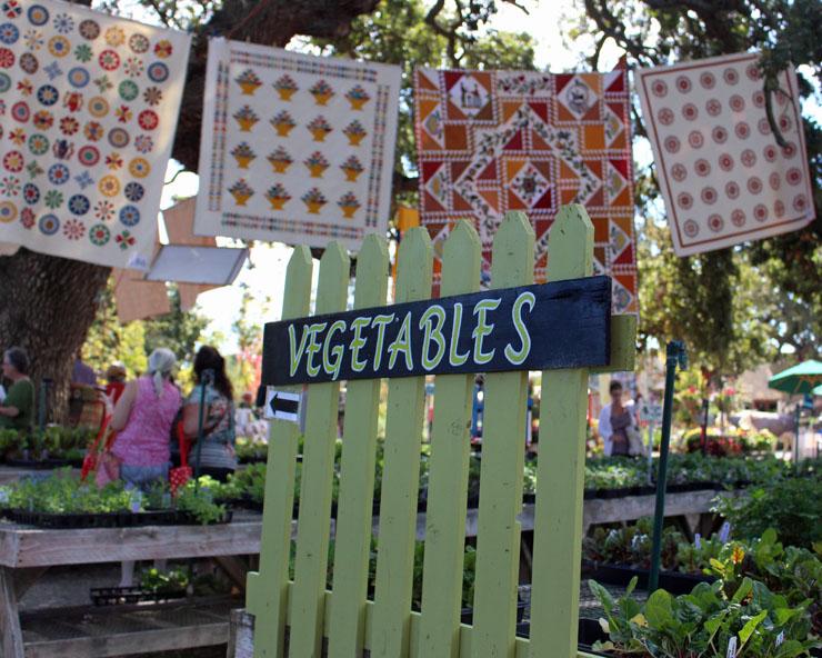 vegetable sign