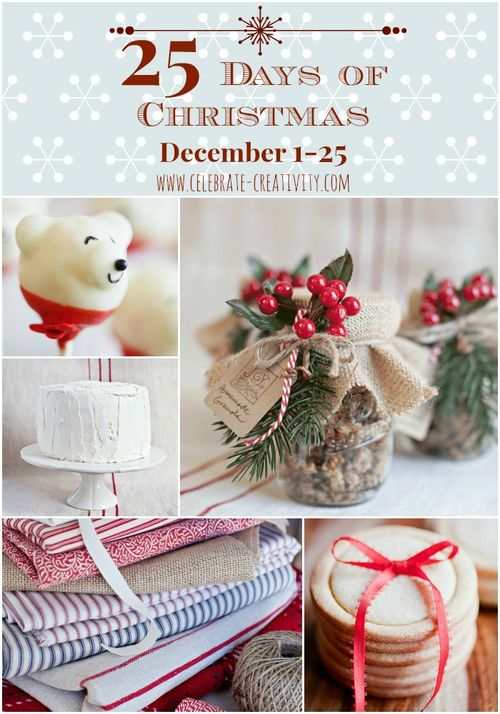 Celebrate 25 days of Christmas - DIY Series