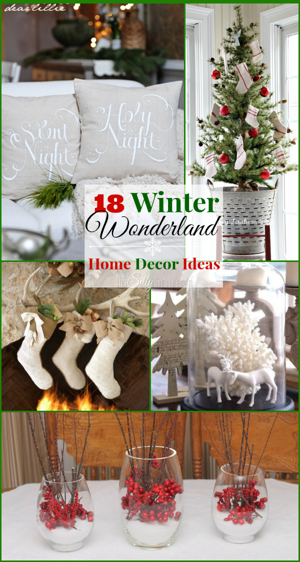 winter decor roundup