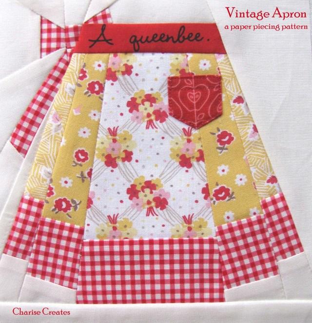 Vintage Apron Pattern by Charise Creates