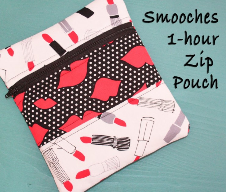 Smooches 1-Hour Zip Pouch