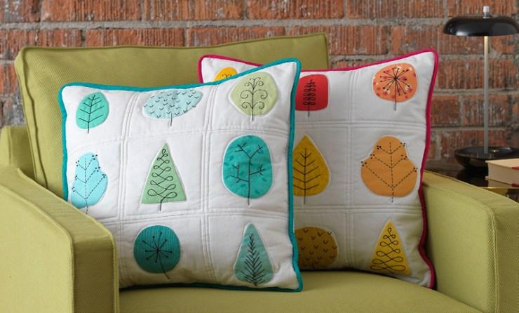 All Season Applique Pillow Project