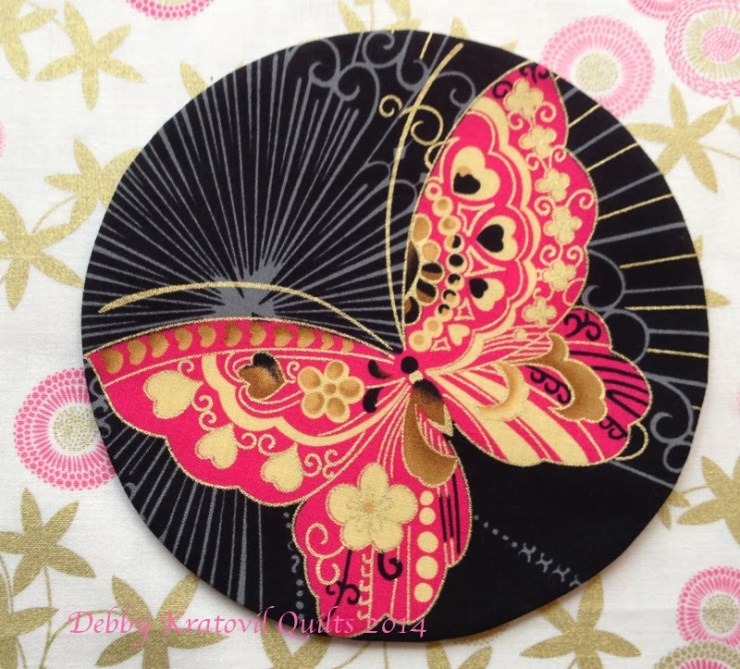 Butterfly Sakura Circle5