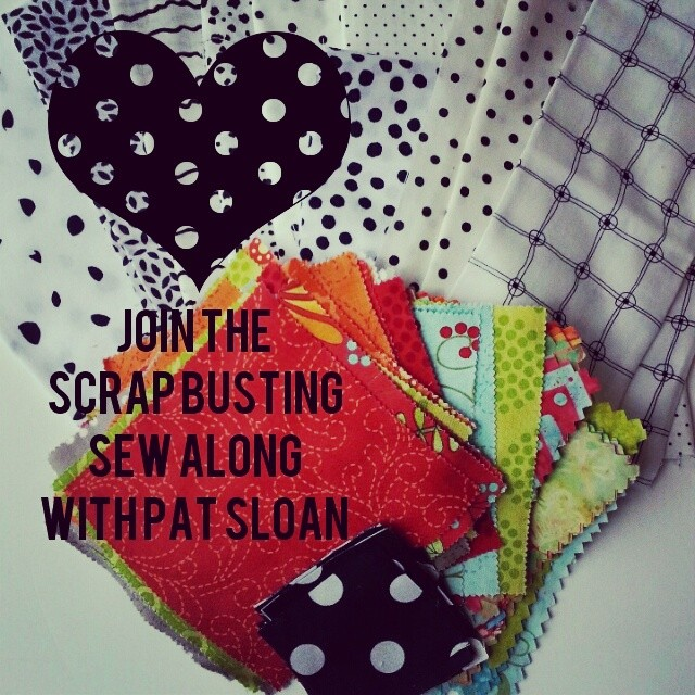Scrapbusting Sew Along with Pat Sloan