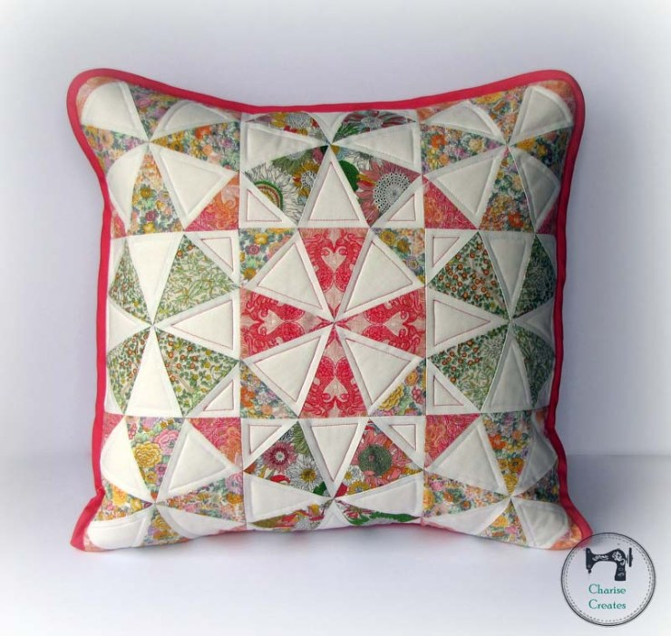 Spring Kaleidoscope Pillow Pattern