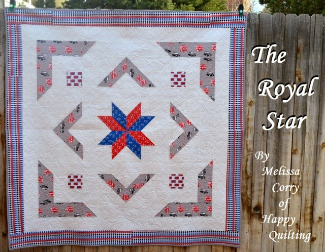 The Royal Star Quilt by Melissa Corry for Riley Blake Designs