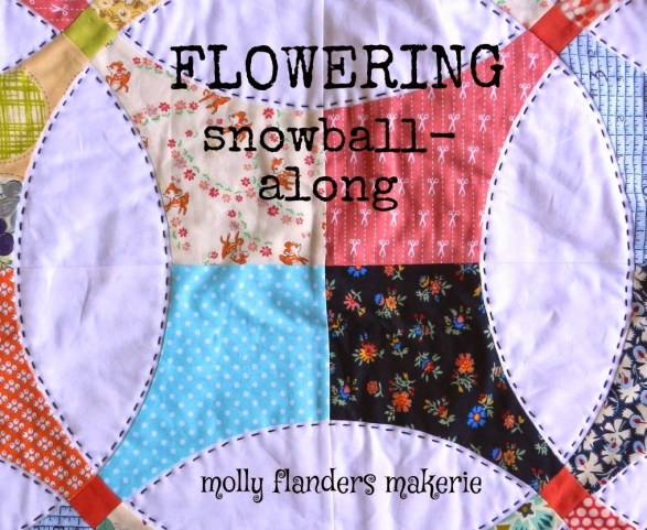 Flowering Snowball Quilt Along