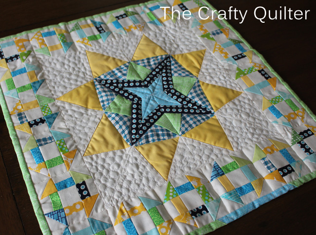 Mini Quilt made by Sarah Oviatt