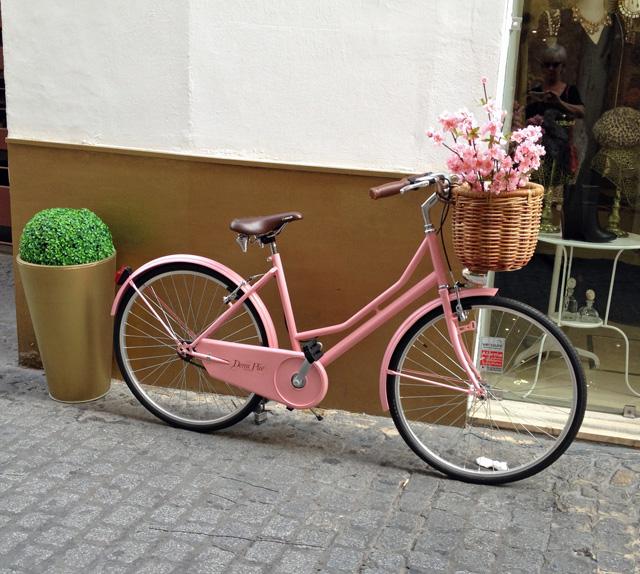 pink bike