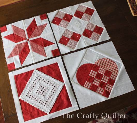 Large Nordic Quilt Block @ The Crafty Quilter