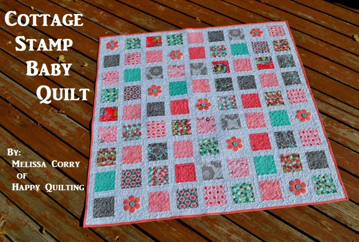 Postage Baby Quilt
