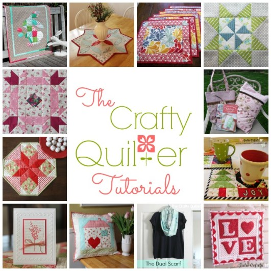 Tutorials at The Crafty Quilter