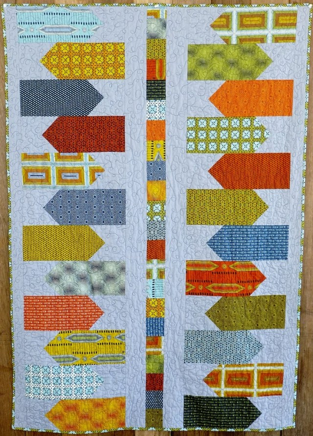 directional quilt pattern