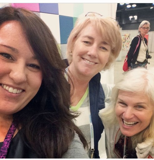 granary girls at quiltcon