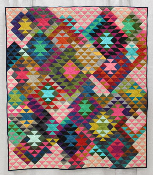 """""""Half Square Triangles"""" by Tara Faughnan"""