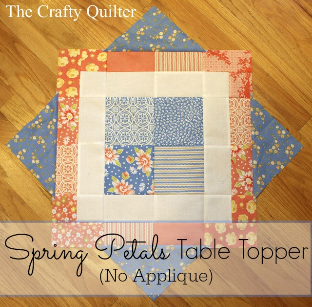 Spring petals no applique
