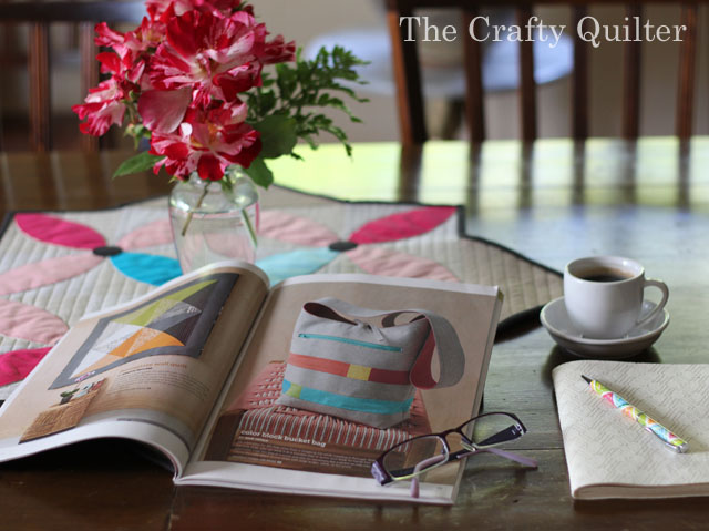 Magazines are a great source of quilt photography ideas.