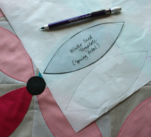 Applique Lesson, Spring Petals QAL @ The Crafty Quilter