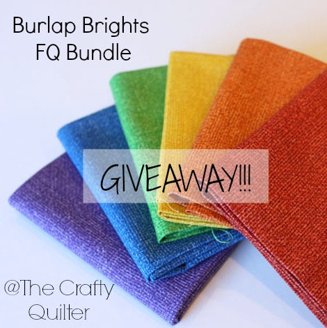 burlap bright giveaway