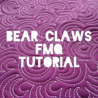 Bear Claws FMQ tutorial @ A Few Scraps