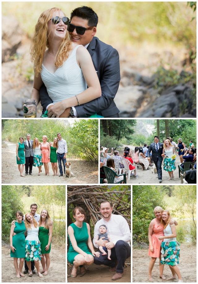 Nicoles wedding collage 2
