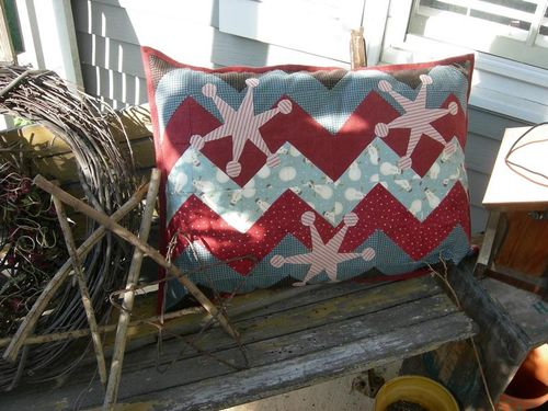 Snowflake Pillow pattern