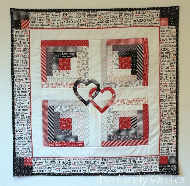 Hope Blooms Quilt made by Julie Cefalu @ The Crafty Quilter