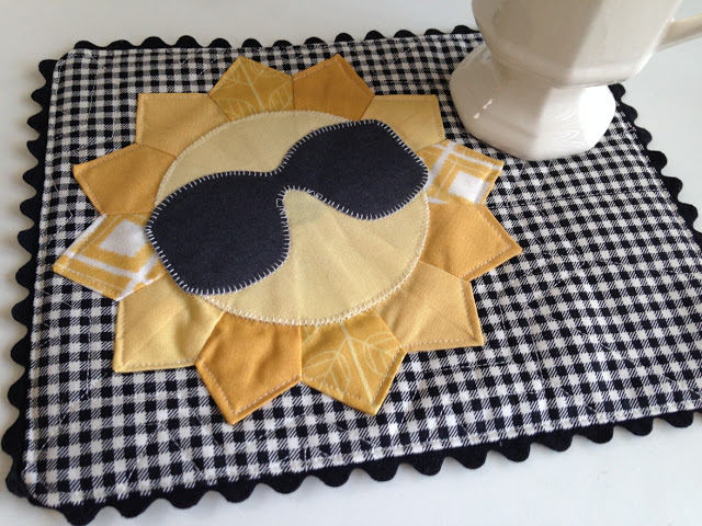 Mr Sunshine Mini Quilt