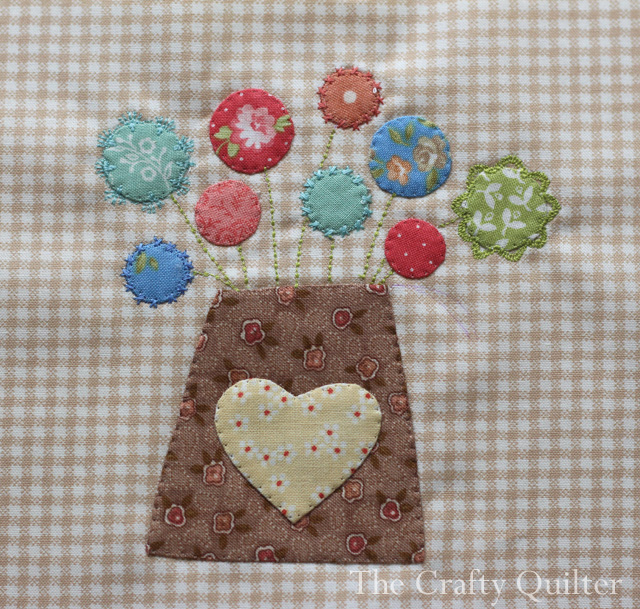 Splendid Sampler Block 4 by Julie Cefalu
