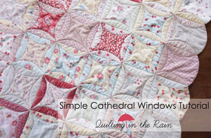 Simple Cathedral Windows Tutorial