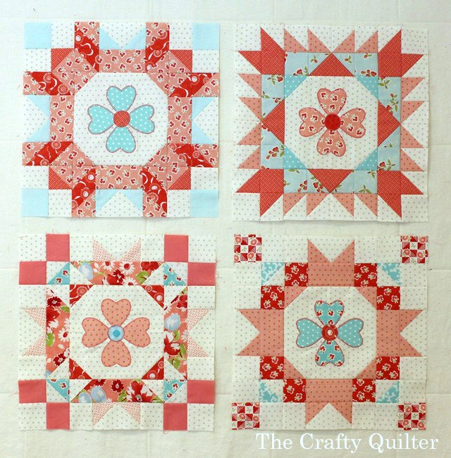 Sew Sweet Simplicity Blocks made by Julie Cefalu