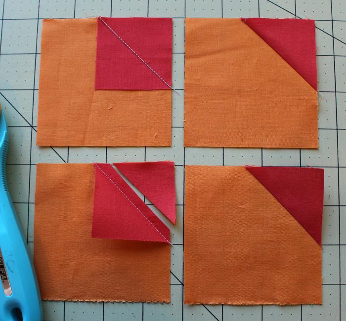 orange petal steps