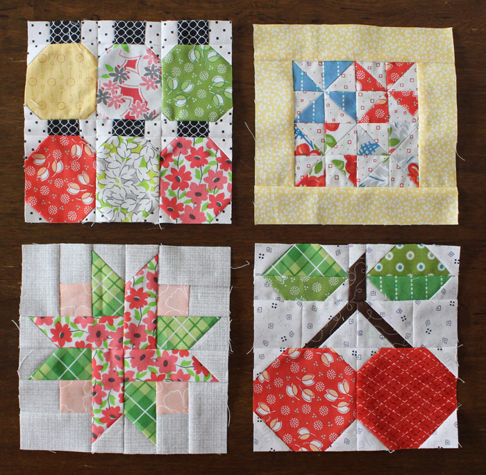 Farm Girl Vintage blocks