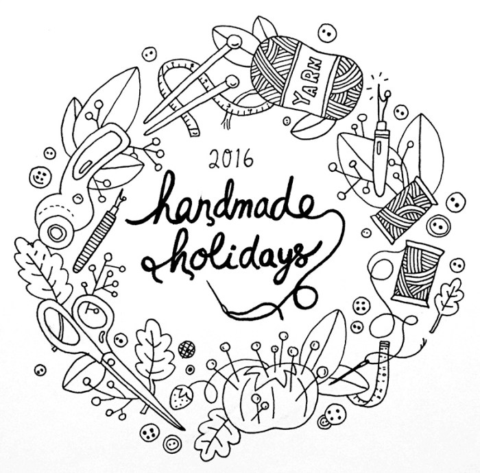 Handmade Holidays 2016 at Sew Mama Sew