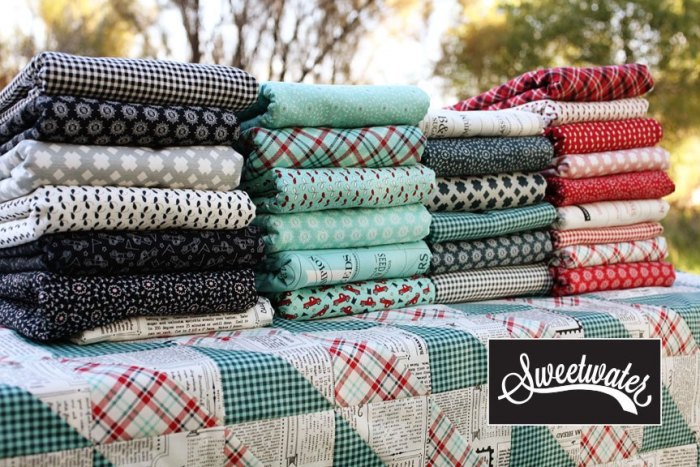 Feed Company Fabric Collection by Sweetwater for Moda Fabric