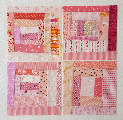 Wonky Lob Cabin Block Tutorial @ Simple Girl, Simple Life
