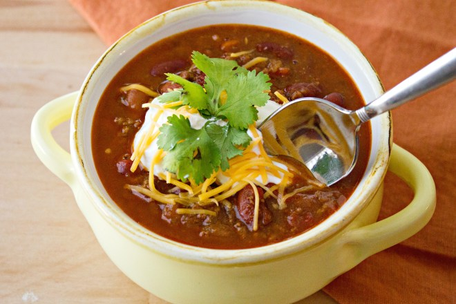 March favorite: Simple Classic Chili at Certified Pastry Aficionado