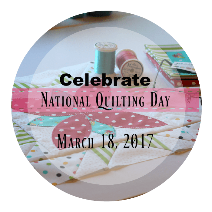 10 ways to celebrate National Quilting Day