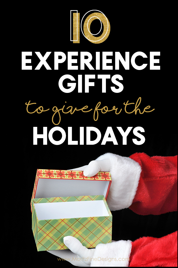 10 Experience Gifts to give for the Holidays @ Moritz Fine Designs
