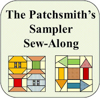 The Patchsmith's Sampler Sew-Along. Stitching one block each week for 2018.