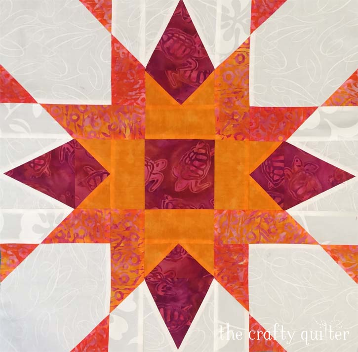 Franklin Star block made by Luann Dugan