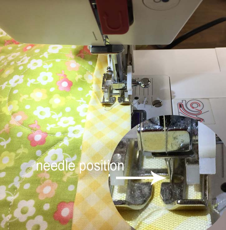 My best all machine binding tips for the quickest and easiest binding for your quilts. Joining binding tails and getting a perfectly mitered corner are also covered by Julie @ The Crafty Quilter.