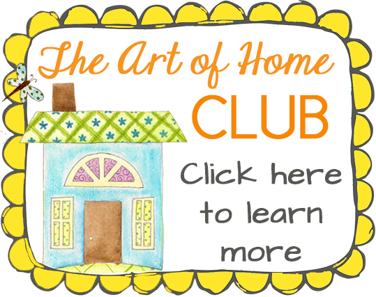 The Art of Home Club by Jacquelynne Steves