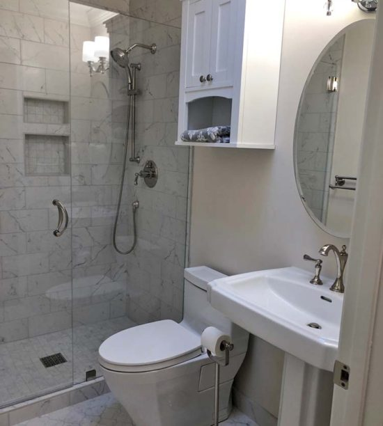 Bathroom remodel @ The Crafty Quilter