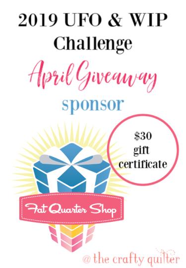April UFO & WIP Challenge Link-up