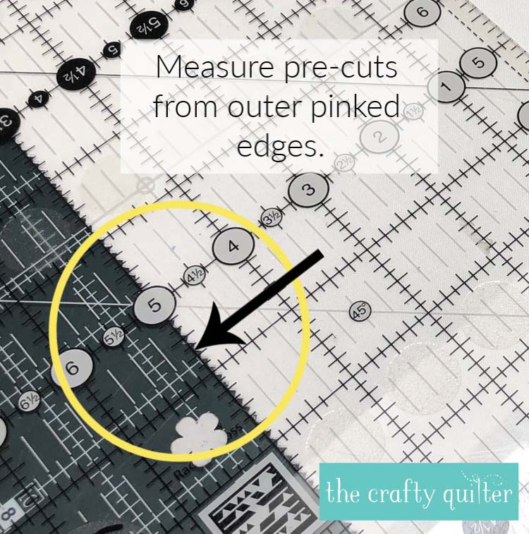 Tips for working with precuts at The Crafty Quilter